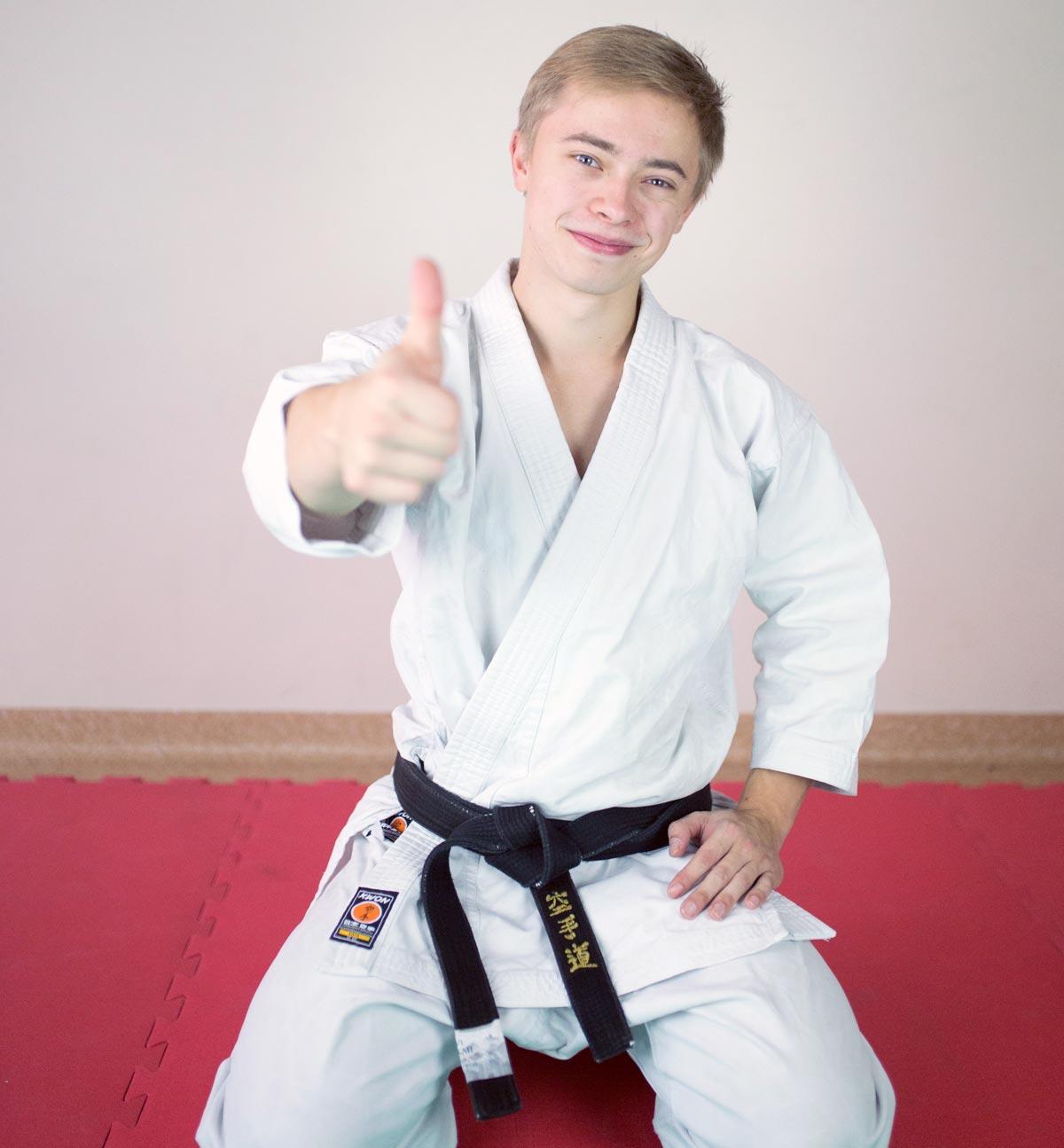 Karate treniruotės