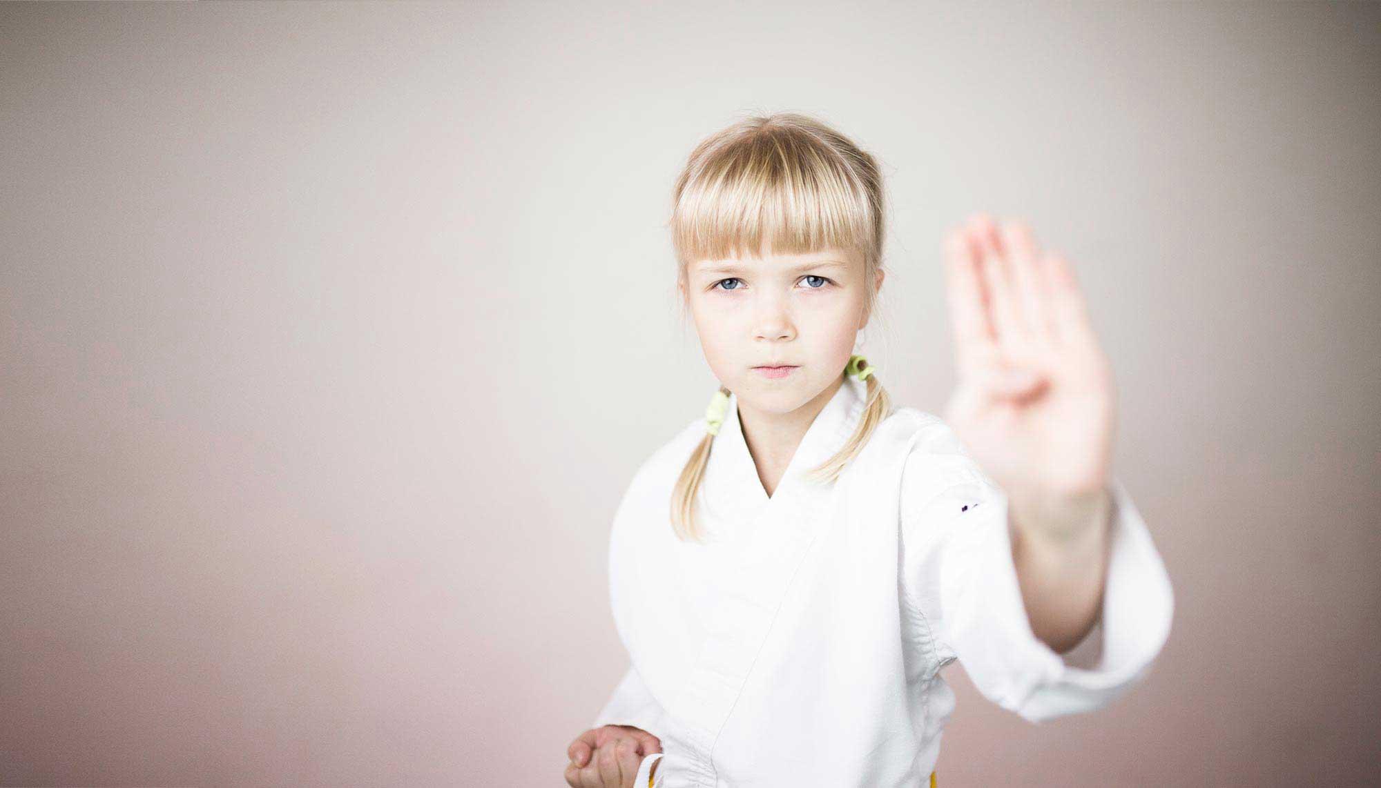 Karate treniruotės vaikams